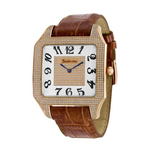 Baldovino Men's 1.89cts Diamonds Studded Watch