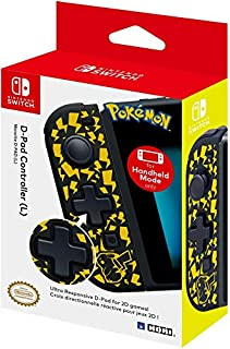 Nintendo Switch D-Pad Controller (L) (Pikachu) by HORI - Officially Licensed by Nintendo (B07HMN7TVB) | Amazon price tracker / tracking, Amazon price history charts, Amazon price watches, Amazon price drop alerts
