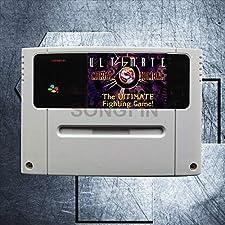 Mortal Kombat 3, Ultimate Mortal Kombat III, Mortal Kombat 16 Bit Big Gray Game Cartridge for PAL/EUR Version Game Console - Ultimate Mortal K 3