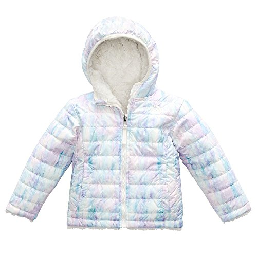 The North Face Toddler Girl's Reversible Mossbud Swirl Jacket - Purdy Pink Snow Dust Print - 2T