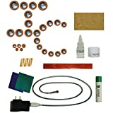 Instrument Clinic Alto Saxophone Pad Installation Kit, with Leak Light