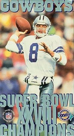 Amazon.com  Super Bowl XXVIII - Dallas Cowboys Championship Video ... 0aa4fedcc