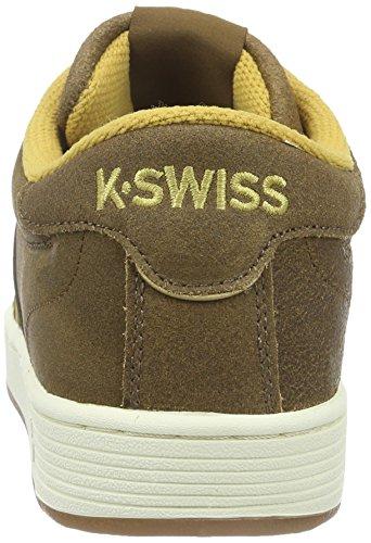 K-Swiss Hoke C CMF, Baskets Basses Homme, Noir Marron (Bison/Amber Gold/Antique White 237)