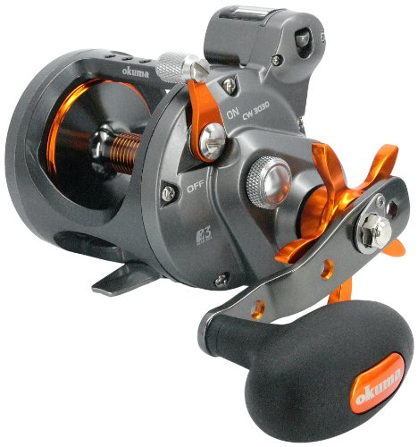 Okuma Cold Water Linecounter Trolling Reel CW-453D