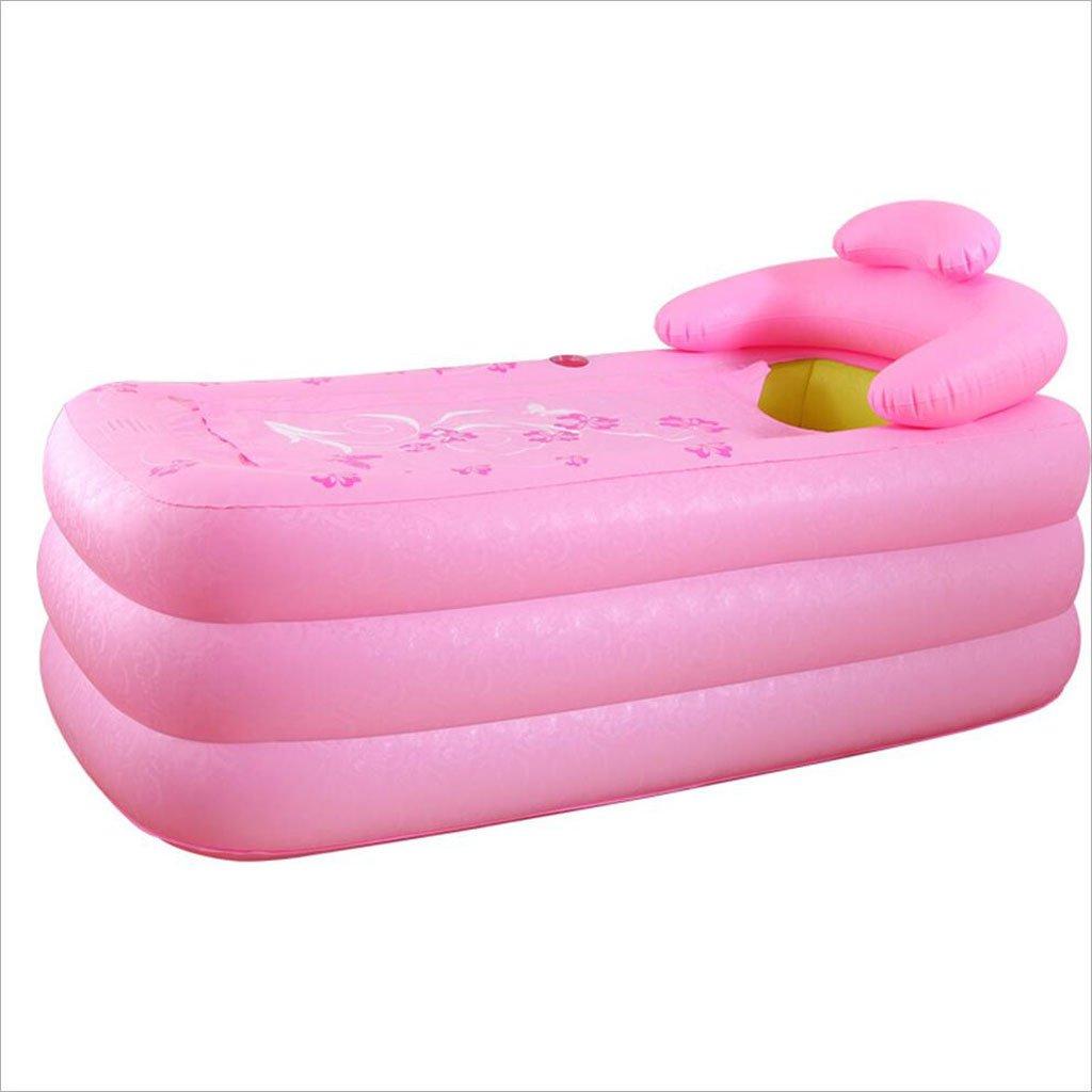 LQQGXL,Bath Double inflatable bathtub thicker family couple basin folding bathtub adult bathtub bathtub green Inflatable bathtub