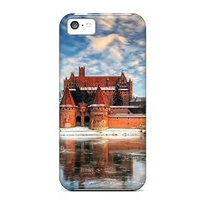 For Iphone 5c Fashion Design Castle In Poland Case-erbJbct3950kTYQJ