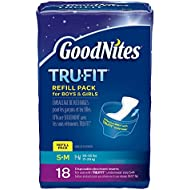 GoodNites TRU-FIT Disposable Absorbent Inserts for Boys...
