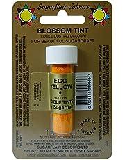Sugarflair Egg Yellow Edible Blossom Tints Food Colour Colouring Dust Powder