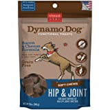 Cloud Star Dynamo Dog Hip & Joint Soft Chew Treats Bacon & Cheese Formula - Grain Free - 14 Oz