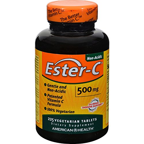 2Pack! American Health Ester-C - 500 mg - 225 Vegetarian Tablets by Vitamin C