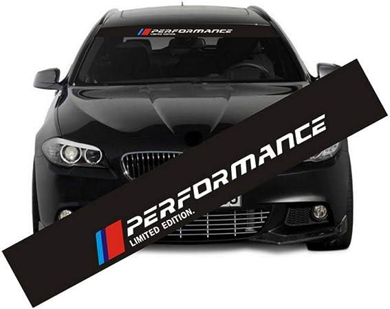 Black 2pcs Acrylic Car Sticker M Power Performance Decal Emblem Sticker for All BMW M Series Car Styling Auto Accessories