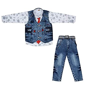 2f987295994c ZIZER Baba Suit for 3-4 Year Baby Dress for Boys