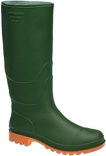 Ginocchio Bottes de Pluie Vertes Taille 39: