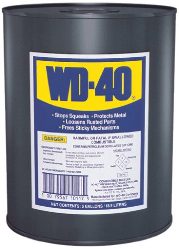WD-40 10117 Multi-Use Product, 5 Gallon Pail by WD-40