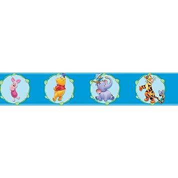 Winnie The Pooh Kinderzimmer Bordure Wandborte Selbstklebend