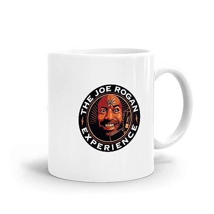 Amazon com: The Joe Rogan Experience Mug, Ceramic White Large Mug