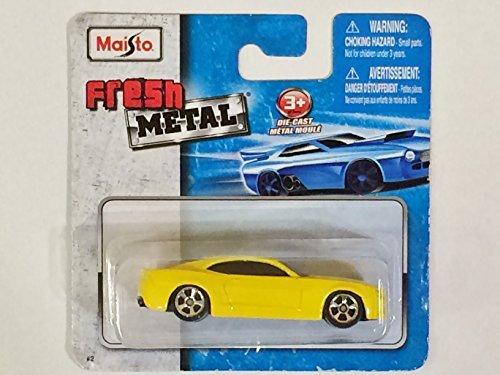 Nomad Car Concept Chevrolet - Maisto Fresh Metal Die-Cast Vehicles ~ 2006 Chevrolet Camaro Concept (Yellow)