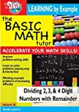 Basic Math Tutor: Dividing 2,3, & 4 Digit Numbers With Remainder [DVD] [2007] [NTSC] by Jason Gibson