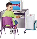 Rainbow Accents 3493JC007 Discovery CPU Booth, Yellow