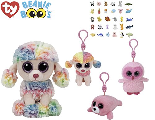 Animal TY Beanie Boos Babies Stuffed Animals With Clip Keychains   Puzzle  Eraser  36225d417acd