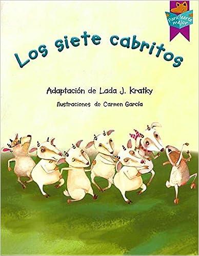 Descargador de libros de google para Android Los Siete Cabritos (Para Leerte Mejor / to Read You Better) PDF iBook