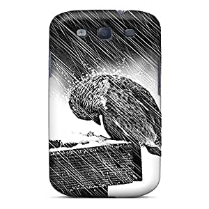 Galaxy S3 HUb789TAlC Chilling Out Tpu Silicone Gel Case Cover. Fits Galaxy S3