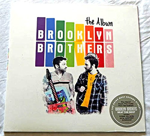 """Price comparison product image Brooklyn Brothers THE ALBUM - Atco Records 2012 - Vinyl LP Record - Factory Sealed - With Ryan O'Nan and Michael Weston - """"Come On Girl"""" """"278 Airport"""" """"Someday"""""""