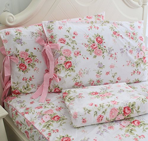 FADFAY Cotton Floral Sheets 4 Piece product image