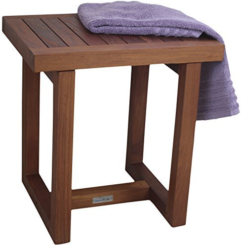 18 Teak Shower Bench - From the Spa Collection by Aqua Teak