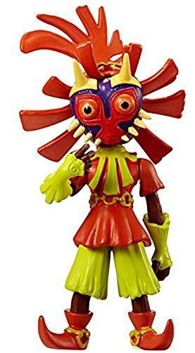 Wind Waker Zelda Costume (World of Nintendo, The Legend of Zelda, Skull Kid Action Figure, 2.5 Inches)