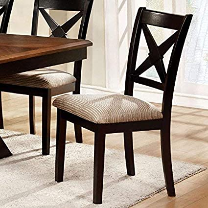 At Home Dining Chairs.24 7 Shop At Home 247shopathome Idf 3776sc Dining Chairs Oak