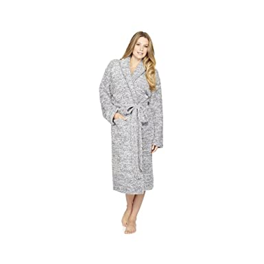 Barefoot Dreams CozyChic Heathered Adult Robe at Amazon Women s Clothing  store  38e31f8bd