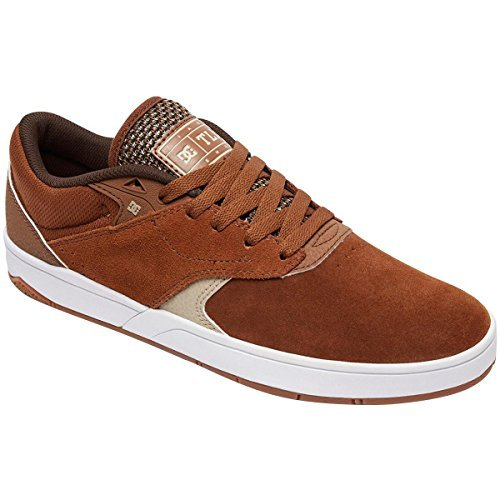 Dc Mens Sneakers Skate Tiago S Marrone / Marrone Chiaro