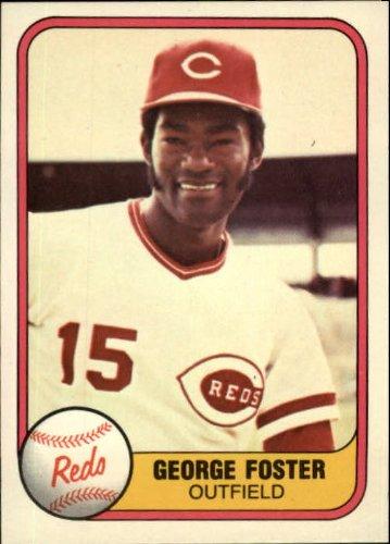 1981 Fleer Baseball Card #216 George Foster