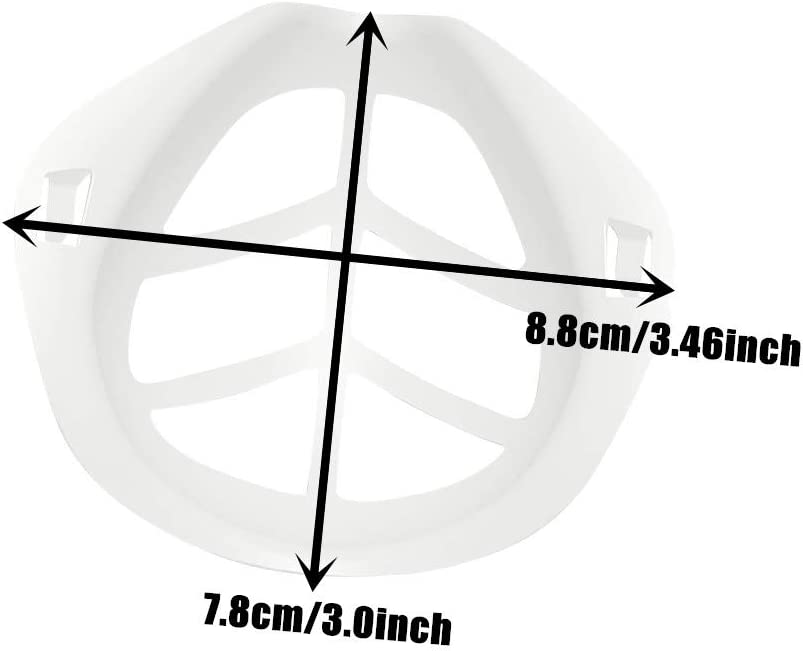 10 Piezas m/_/áscara con Soporte PE Soporte de extensi/ón de m/_ascarilla,Transpirable Seguro y a Prueba de Polvo para ni/ños
