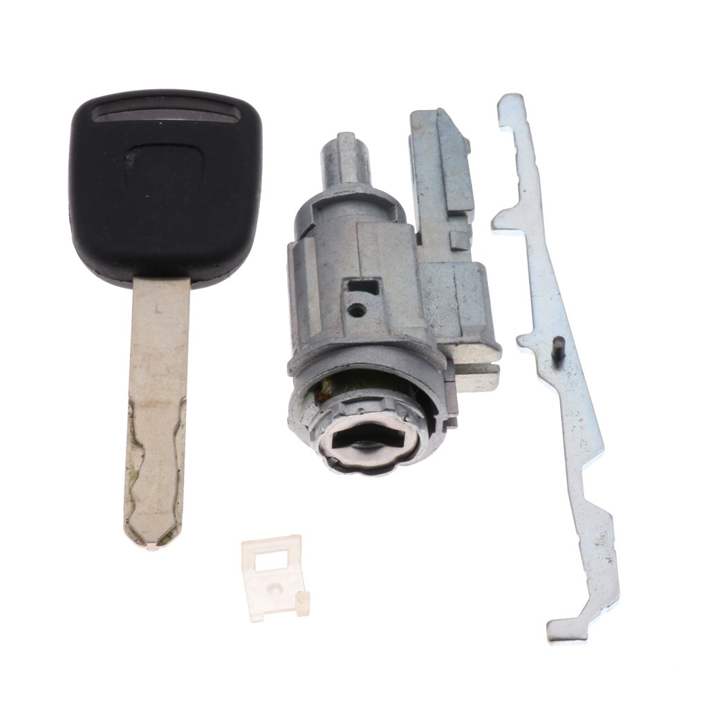 MagiDeal Car Security Ignition Switch Door Cylinder Lock Key Kit For Honda Vehicles