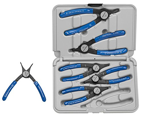 Armstrong 68-056 6 Piece Cam-Lock Convertible Retaining Ring Pliers Set
