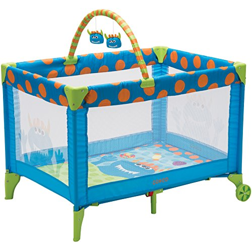 Cosco Funsport Deluxe Play Yard, Monster Syd -