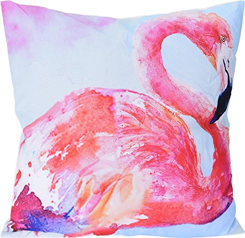 Cojín flamenco rosa: Amazon.es: Hogar