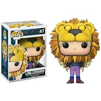 Figurine pop Luna Lovegood avec tête de lion