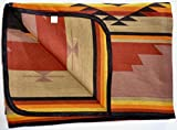 Extra Fine Weave Luxury Southwest Cross Design Bedspreads Queen Size (OBED7029-D)