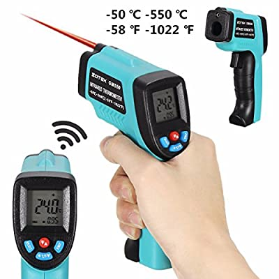 "GM550 Digital Non-Contact LCD IR Point Handheld Temperature Tester Gun Thermometer -50~550°C""ƒ"