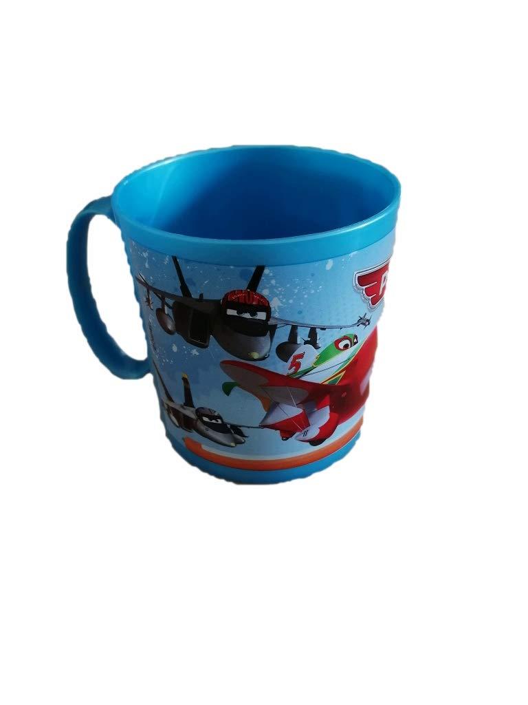 ALMACENESADAN 2238; Taza microondas Disney Planes; Capacidad 350ml; Producto de plástico. No BPA.