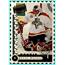1997-98 Donruss Priority Stamp of Approval #177 Kevin Weekes FLORIDA PANTHERS serial #89/100 NHL NETWORK ANALYST RC Parallel