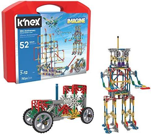 K'nex K`Nex – Imagine 25th Anniversary Ultimatebuilder's Case Building Kit, Varies by Model