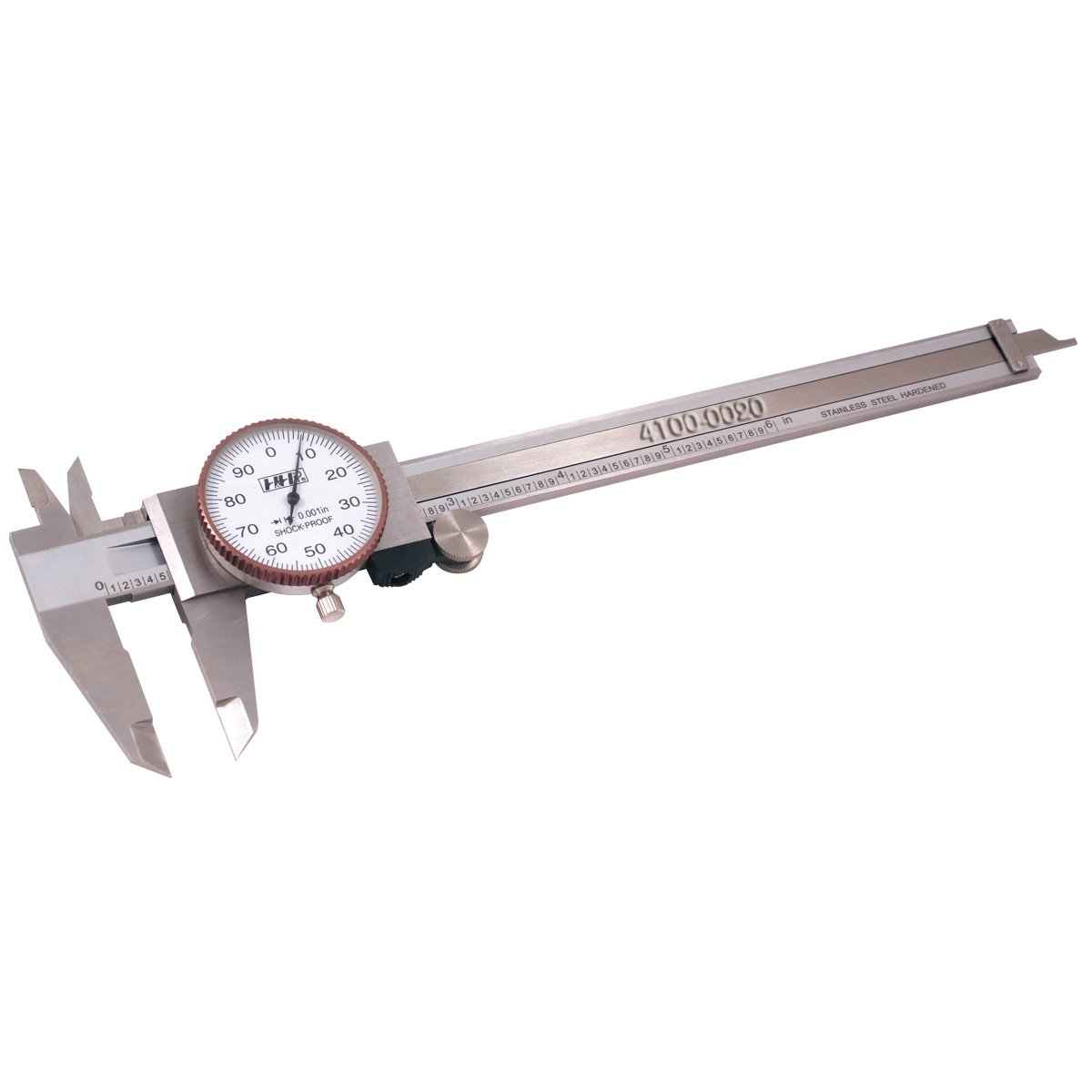 Pro Series by HHIP 4100-0020 Pro-Quality Dial Caliper, 6' 6