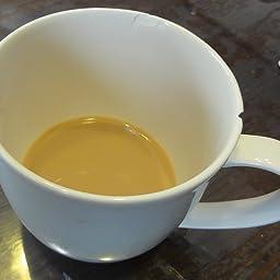 Amazon Co Jp Tamaki マグカップ フォルテモア ホワイト 直径8 6 高さ8 5cm 3ml 電子レンジ 食洗機 オーブン対応 軽量強化磁器 T ホーム キッチン