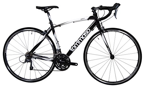 Tommaso Imola Lightweight Road Bike Shimano Claris - Black - Medium