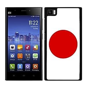 FUNDA CARCASA PARA Xiaomi Mi3 DISEÑO BANDERA JAPON MOD.2