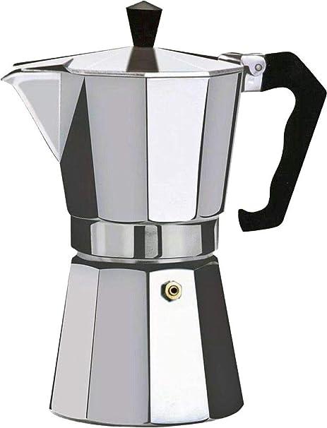 Orework Cafetera Italiana, Aluminio, 6 Tazas: Amazon.es: Hogar